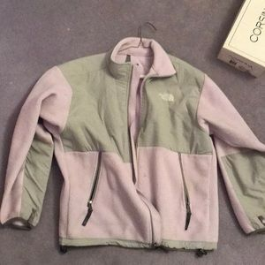 Other - The North Face Lavender fleece kids XL